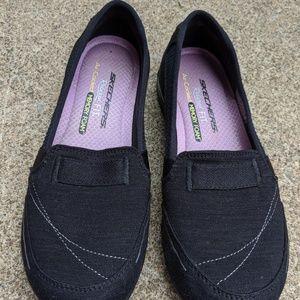 Skechers Black Slip Memory Foam Sneakers Size 6.5M